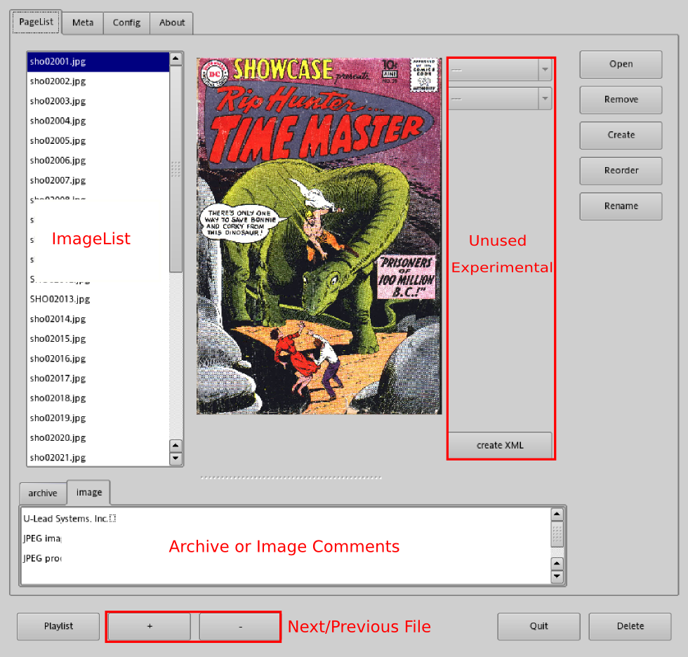 ComicMaster archive manager 1
